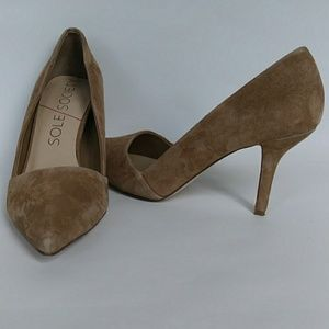 Sole Society Suede Pump Size 8.5